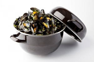 How to microwave mussels?