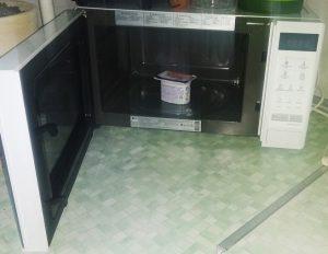 Can you microwave yogurt?